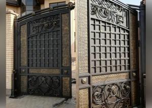 кованые ворота Ростов - Кузница Юга