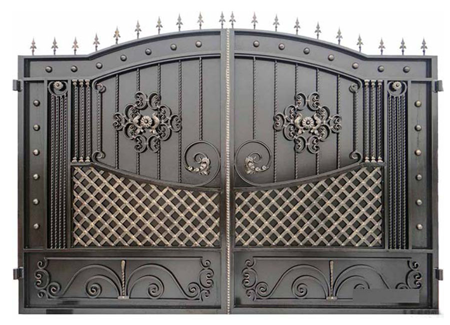 ворота кован картинка открыл