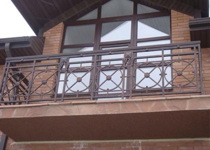 """кованый балкон """"Кузница Юга"""""""