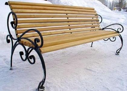 кованые скамейки - Кузница Юга