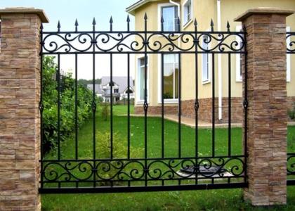 кованый забор в Ростове - Кузница Юга