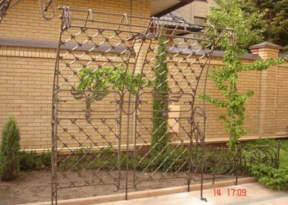 садовые арки фото - Кузница Юга