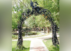арка садовая - Кузница Юга