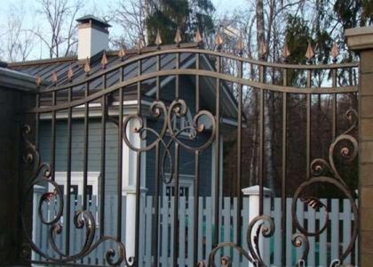 кованые заборы и ворота - Кузница Юга