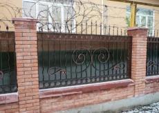 кованый забор Ростов - Кузница Юга
