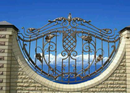 красивые кованые заборы - Кузница Юга